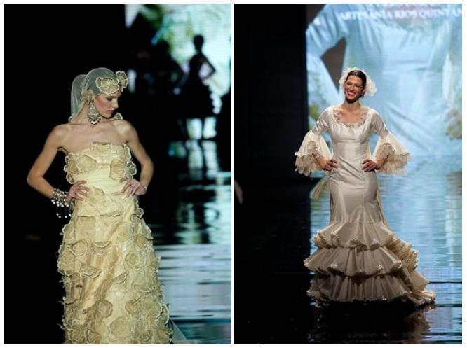 Carmen raimundo y Curro Durán simof 2009 novias