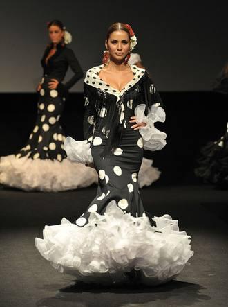 Foto Cristóbal. Amparo Macia en Expo Flamenca,15-02-09.