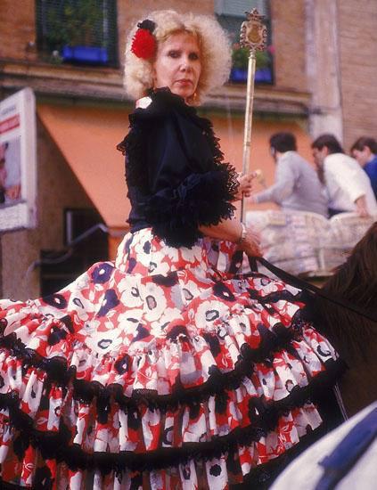 Duquesa de Alba en el Rocio