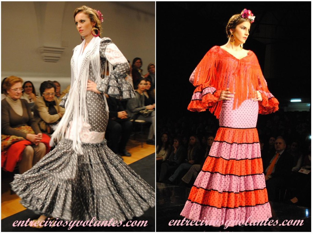 trajes de flamenca canasteros
