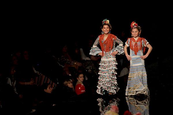 Flamencas De Metro Y Medio Moda Para Las Peques