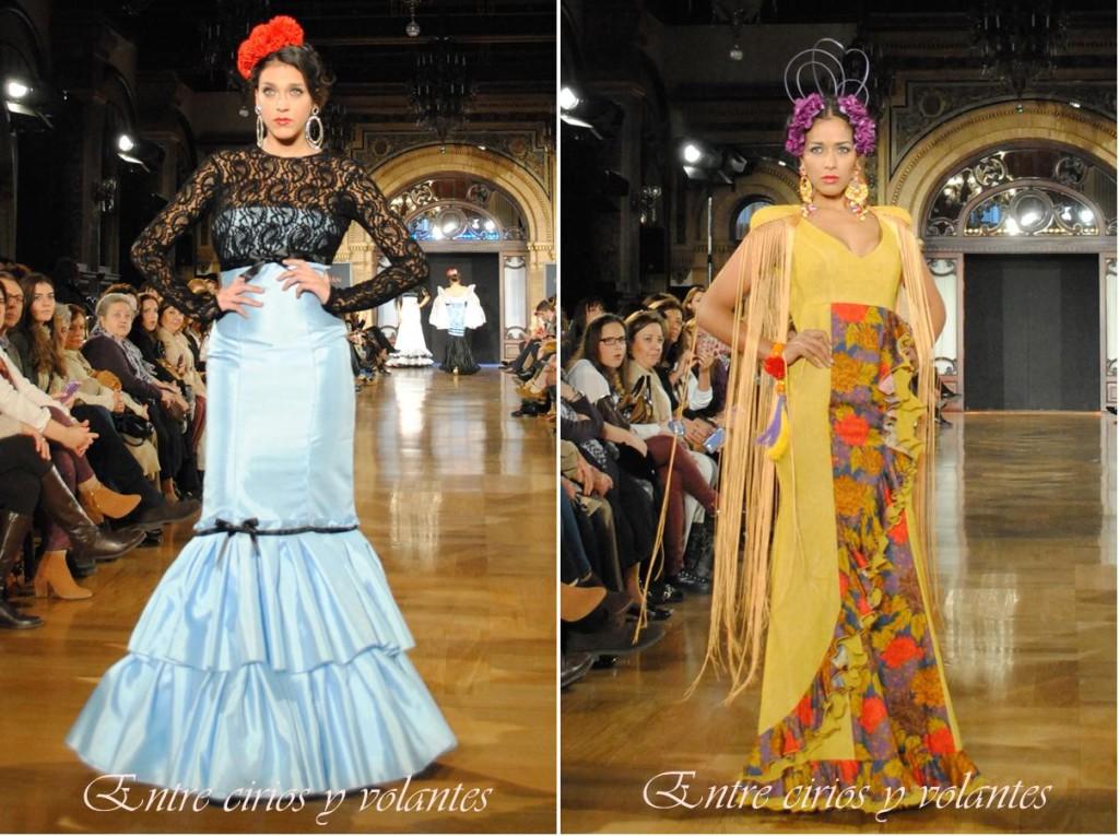 Diseños de José Galván y Eva Zamorana