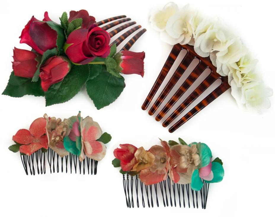 Flores de flamenca Azaranda