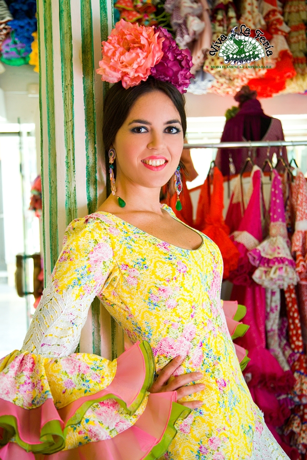 Viva la Feria trajes de flamenca