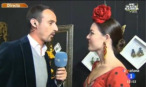 Claudia Alfaro en TVE1