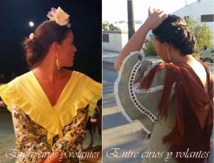Trajes de flamenca de Cecilia Alcantara 2
