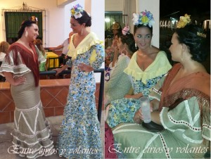 Trajes de flamenca de Cecilia Alcantara