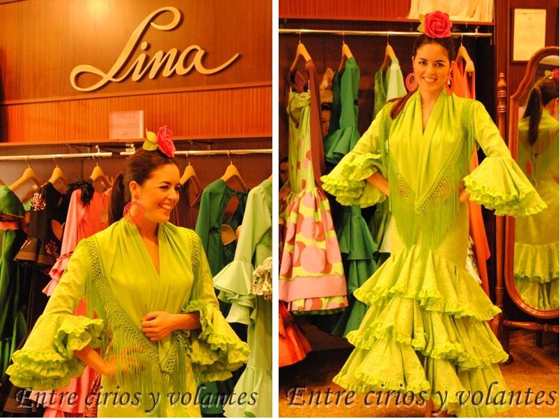 Lina 1960 Trajes de flamenca