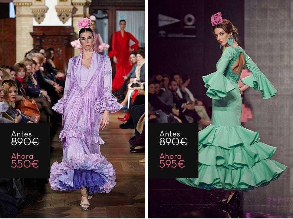 Lina Sevilla Trajes de flamenca