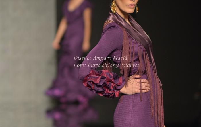 Amparo Macia Simof 2015 mangas de flamenca