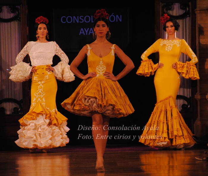 Consolacion Ayala trajes de flamenca 2015 (1)