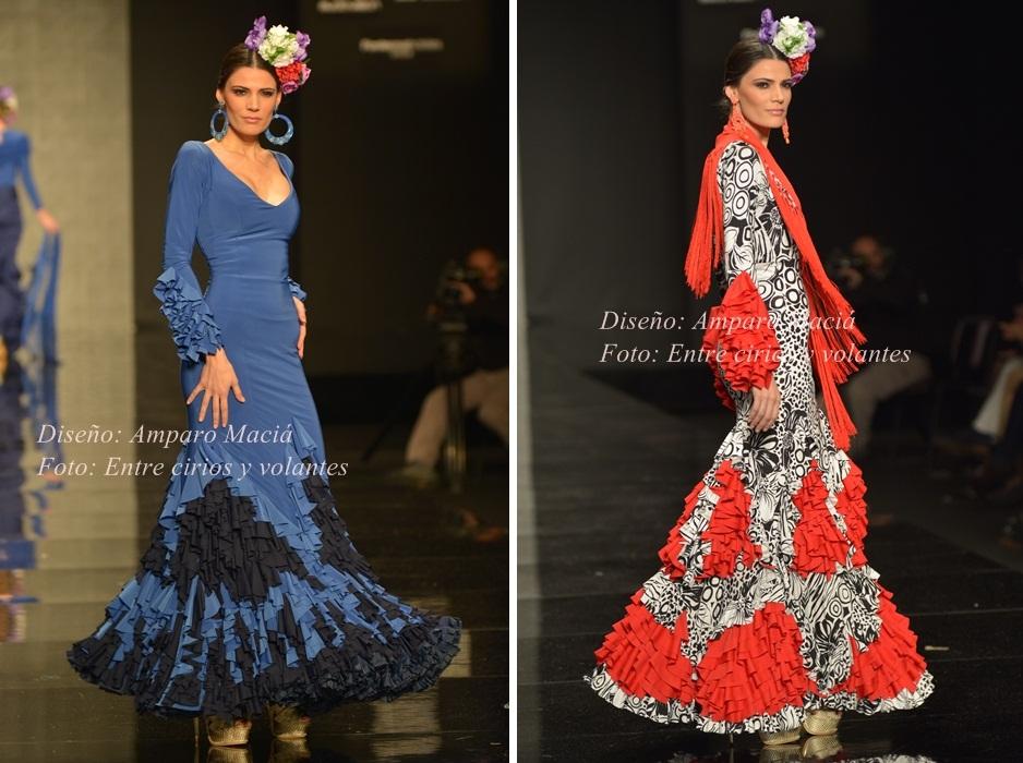 Amparo Macia trajes de flamenca 2015