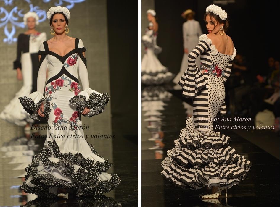 Ana Moron Simof 2015 trajes de flamenca
