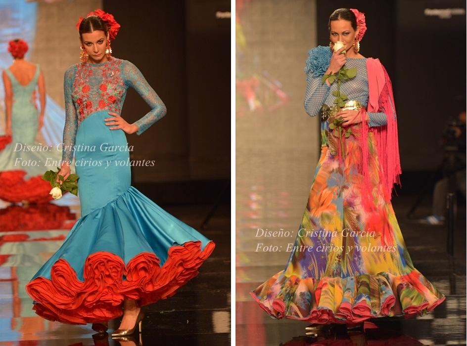 Cristina Garcia Simof 2015 trajes de flamenca