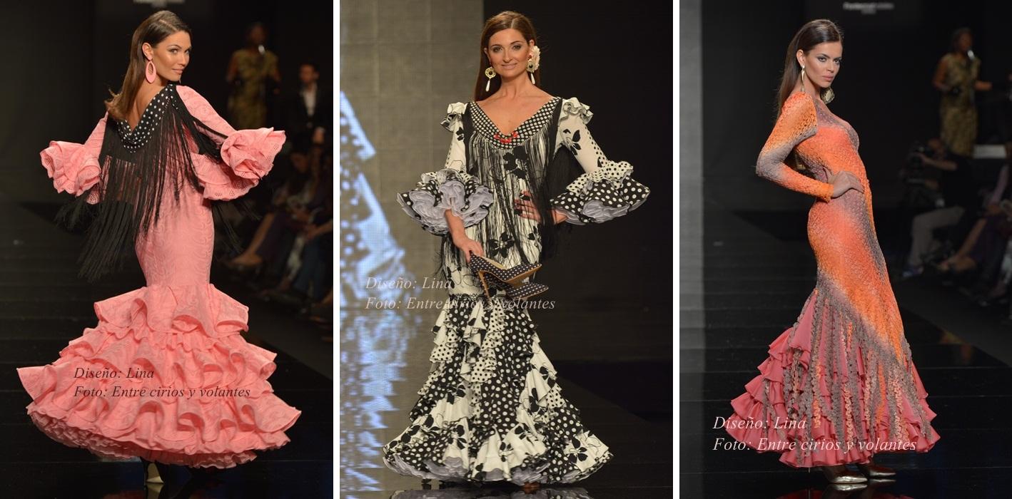 Lina Simof 2015 trajes de flamenca