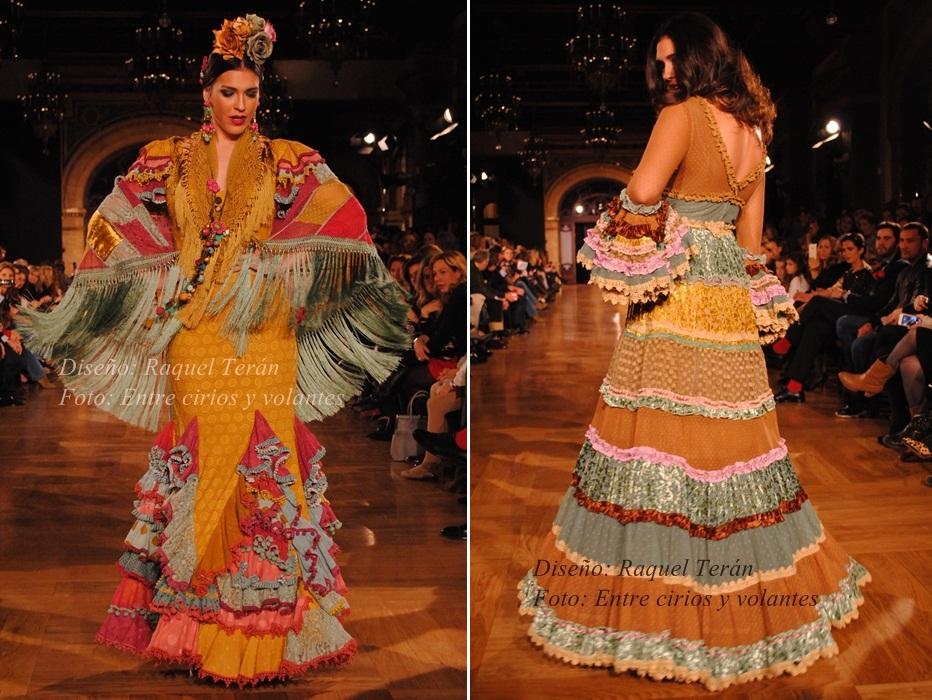 Raquel Teran trajes de flamenca 2015