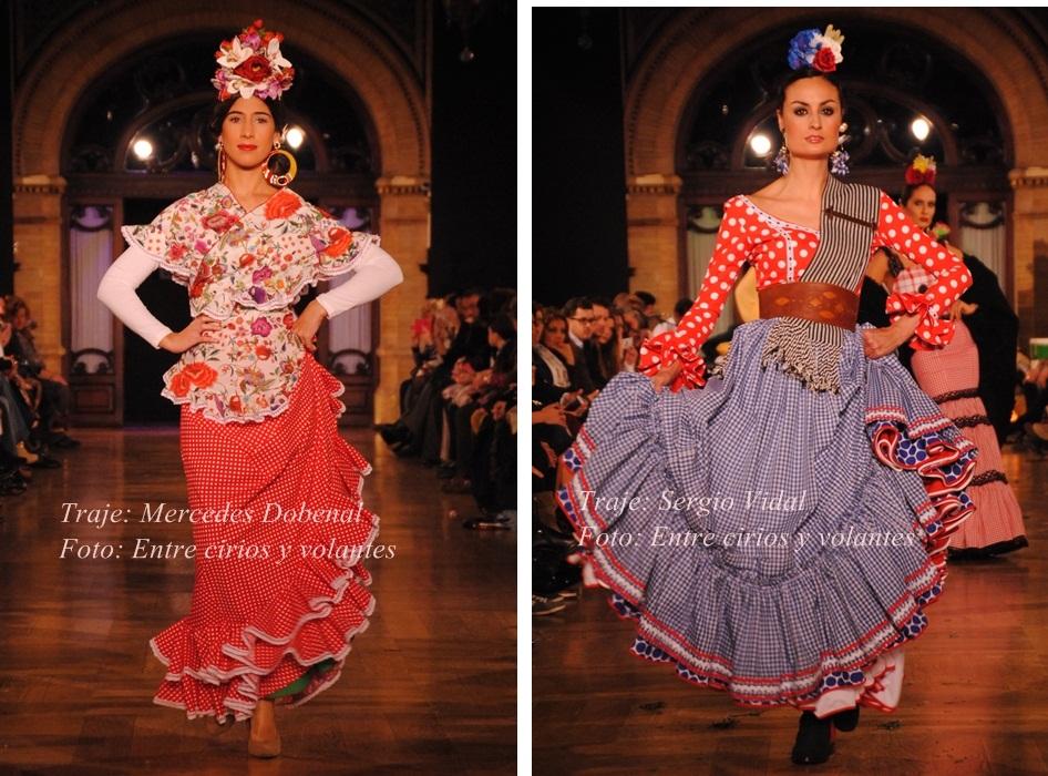 trajes de flamenca batas para el rocio