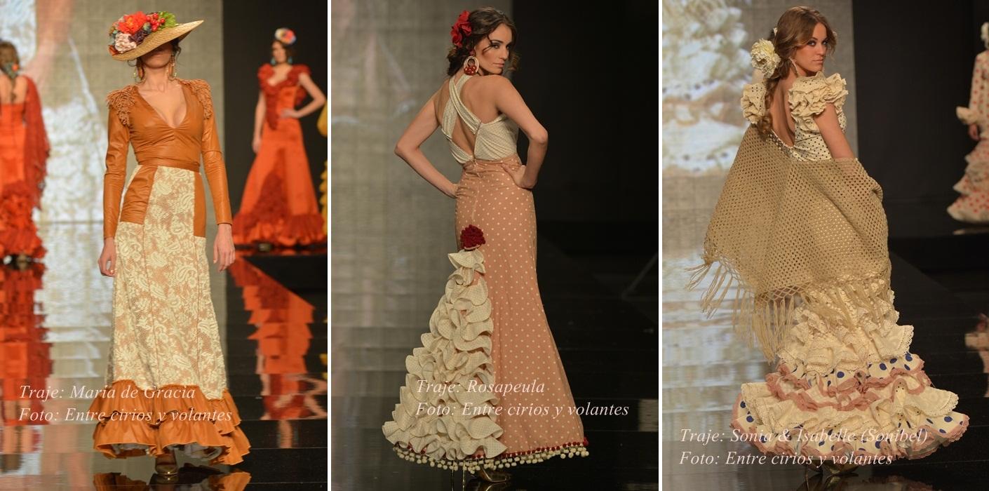 trajes de flamenca para el rocio