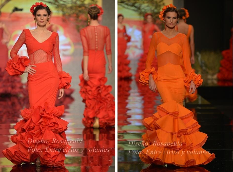 Rosapeula simof 2015 trajes de flamenca