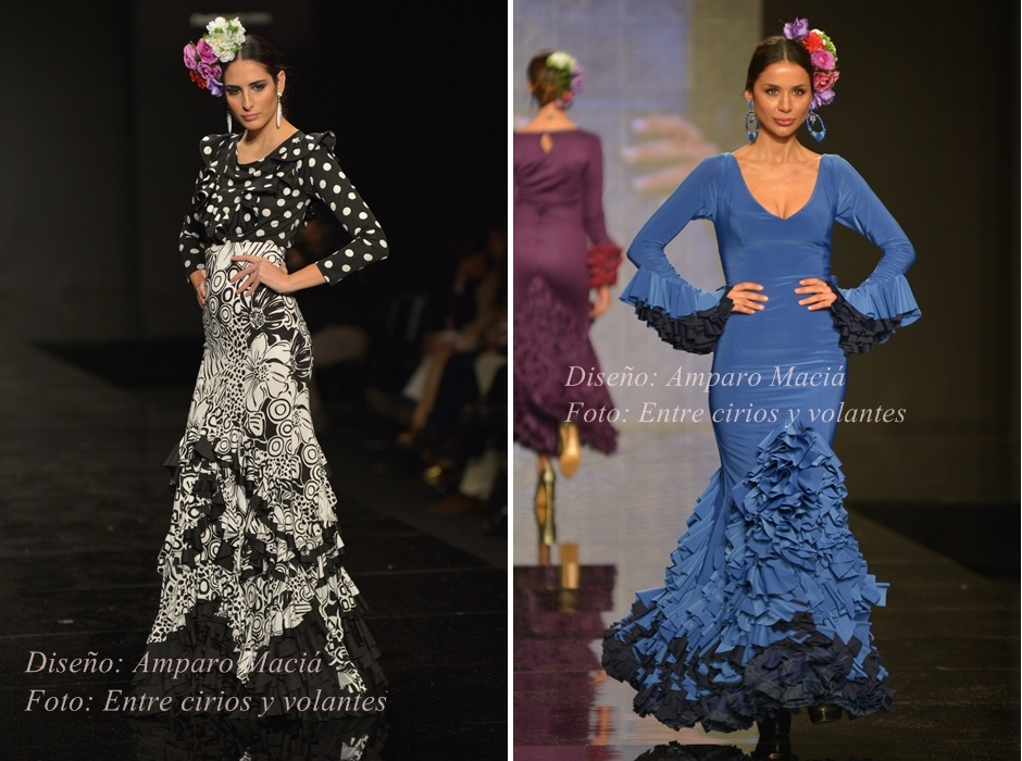 trajes de flamenca amparo macia simof 2015