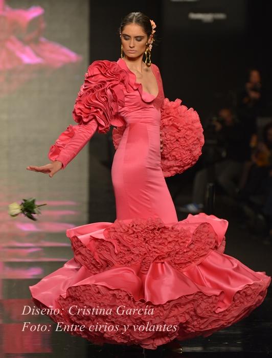 Cristina Garcia trajes de flamenca simof 2015
