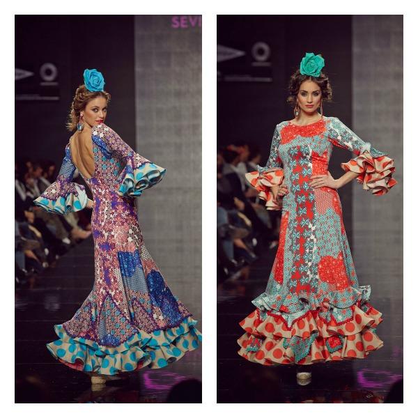 trajes de flamenca de lina