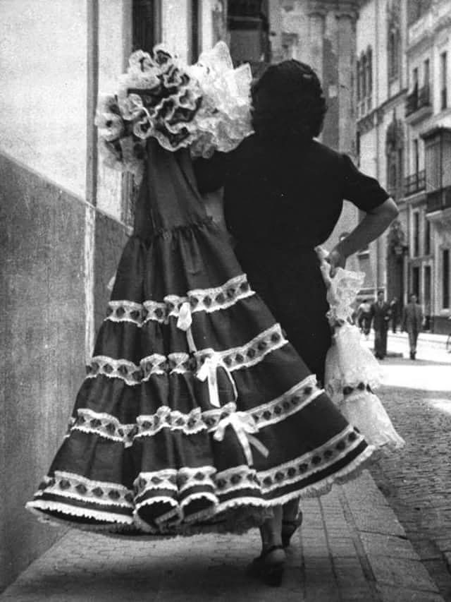 trajes de flamenca antiguos