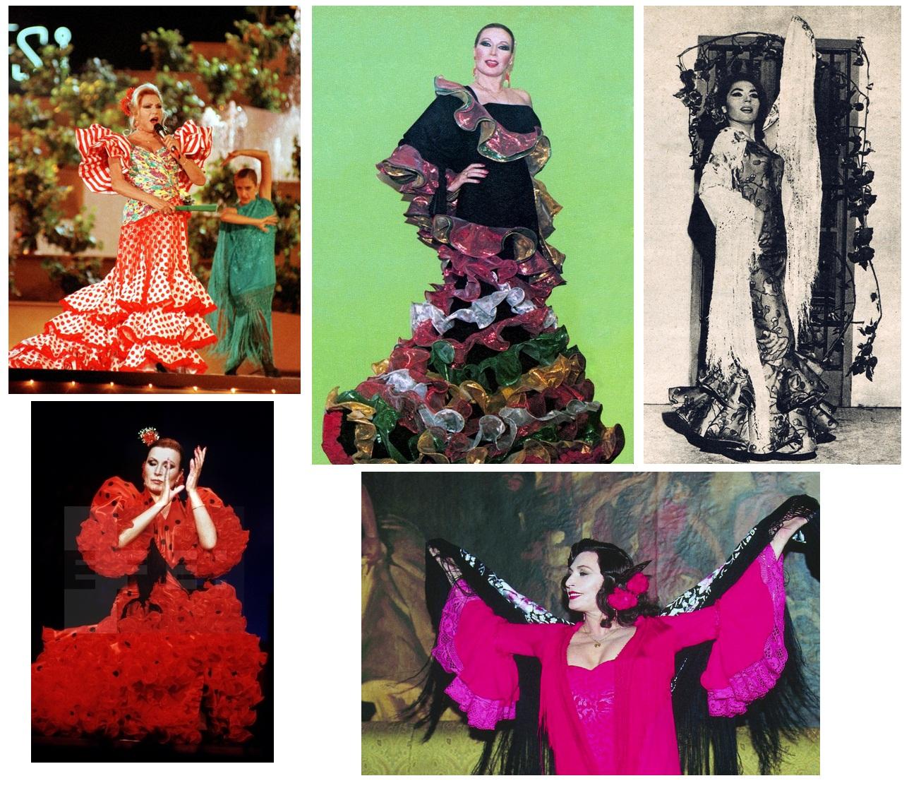 rocio jurado de flamenca 2