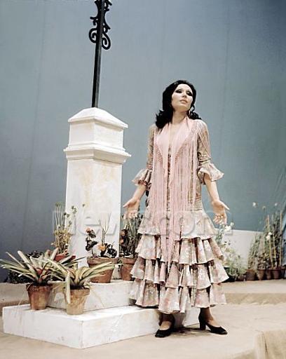 rocio jurado de flamenca