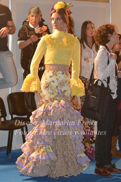 traje de flamenca de margarita freire simof