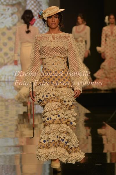 traje de flamenca de sonia isabelle sonibel simof