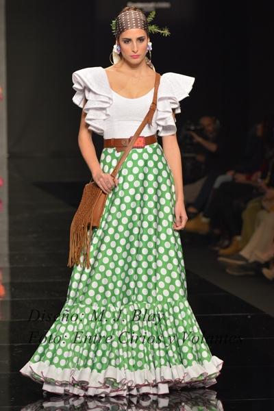 trajes de flamenca para el rocio maria jose blay simof 2015