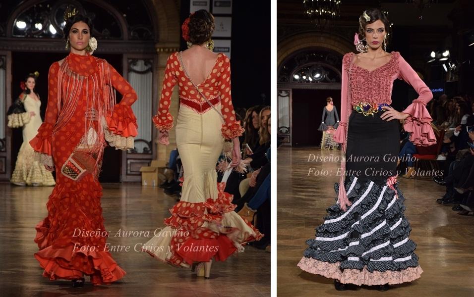 Aurora Gaviño we love flamenco 2016 entre cirios y volantes