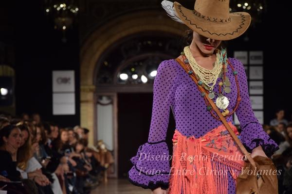 Rocio Peralta we love flamenco 2016 entre cirios y volantes 2