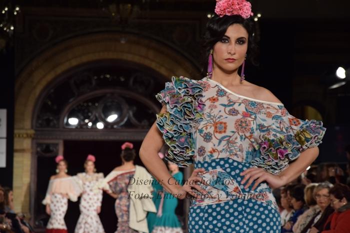 camacho rios trajes de flamenca 2016 entre cirios y volantes
