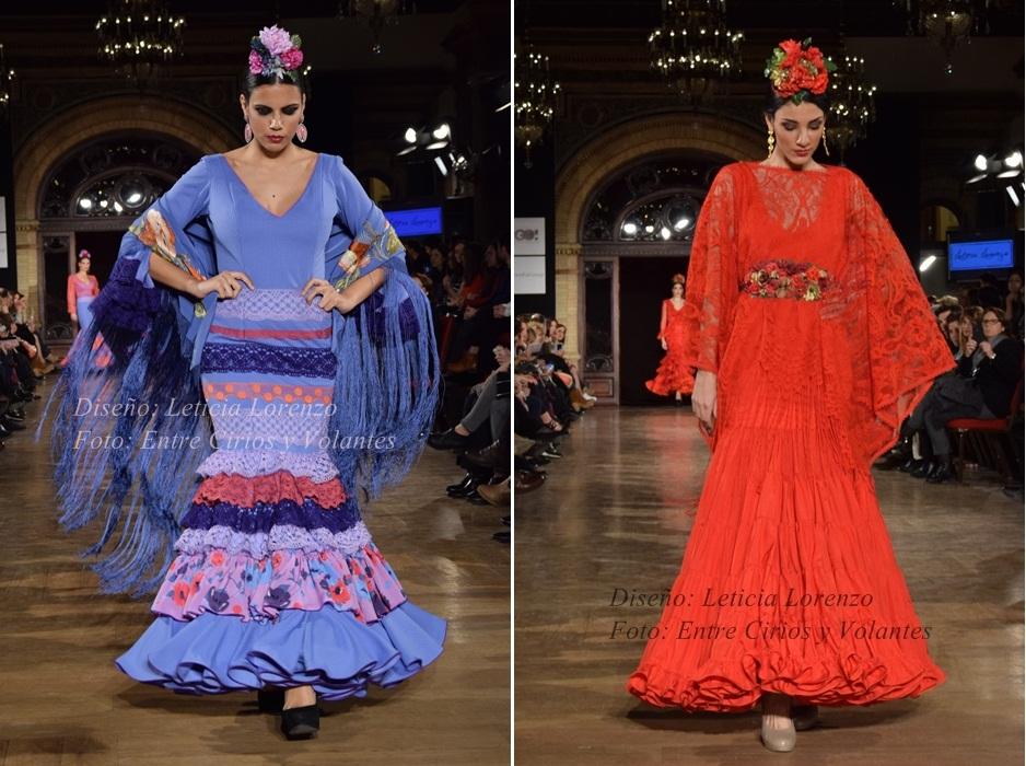 leticia lorenzo trajes de flamenca 2016 entre cirios y volantes
