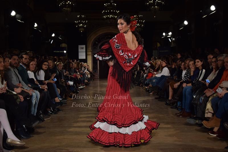 trajes de flamenca pitusa gasul 2016